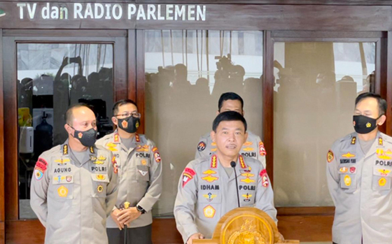 Kapolri : Dukungan Internal Polri Terhadap Komjen Listyo Sigit Sangat Solid