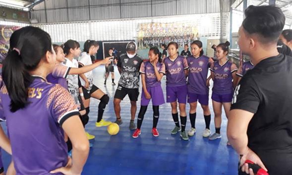 Tim Futsal Pusaka Angles Siap Hadapi Netic FC