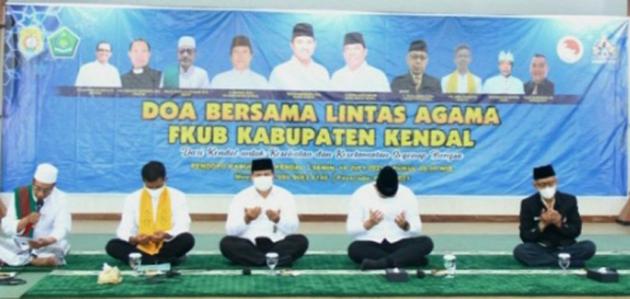 Pemkab dan FKUB Kendal Gelar Doa Bersama