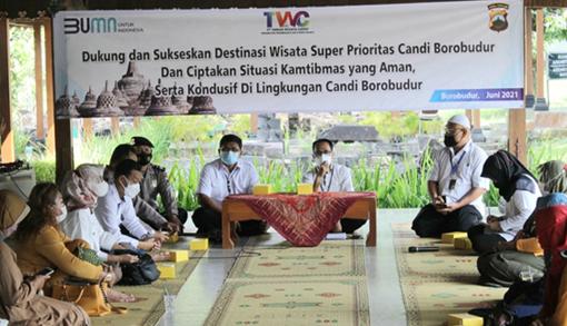 Ratusan Warga Dukung Candi Borobudur Jadi Destinasi Wisata Super Prioritas