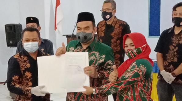 KPU Tetapkan Arief Rohman-Tri Yuli sebagai Pemenang Pilkada Blora