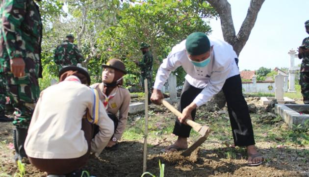 Lesbumi PCNU Grobogan Peringati Hari Pahlawan di Tiga Tempat