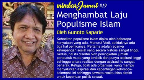 Menghambat Laju Populisme Islam