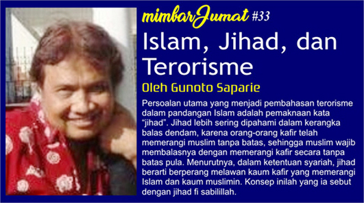 Islam, Jihad, dan Terorisme