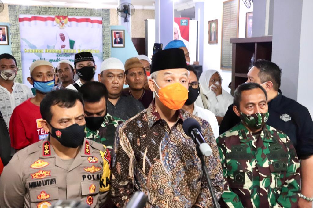 Gubernur, Kapolda dan Pangdam Sowan Lagi ke Habib Luthfi