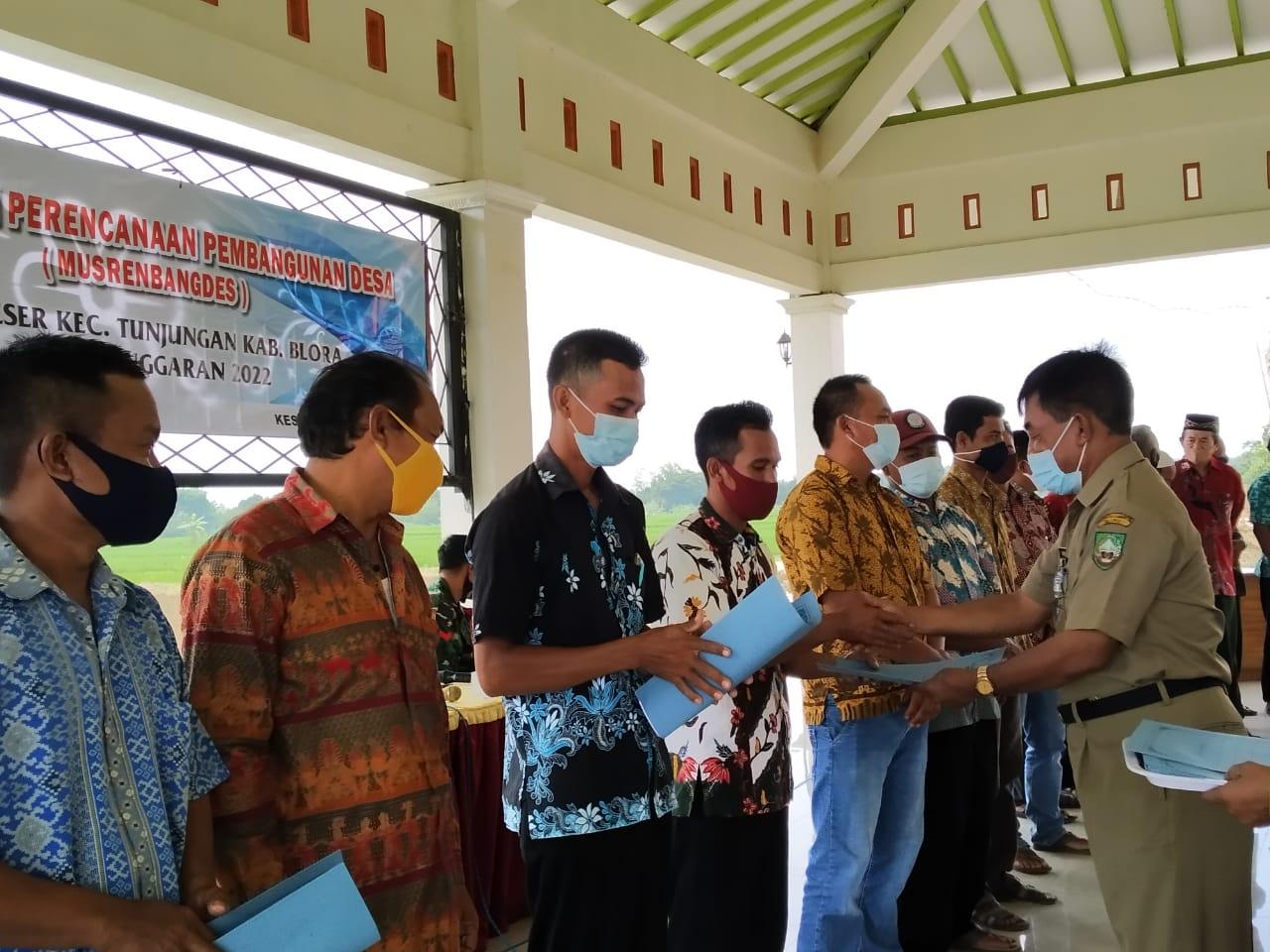 Desa Keser Sukses Gelar Musrenbangdes 2022