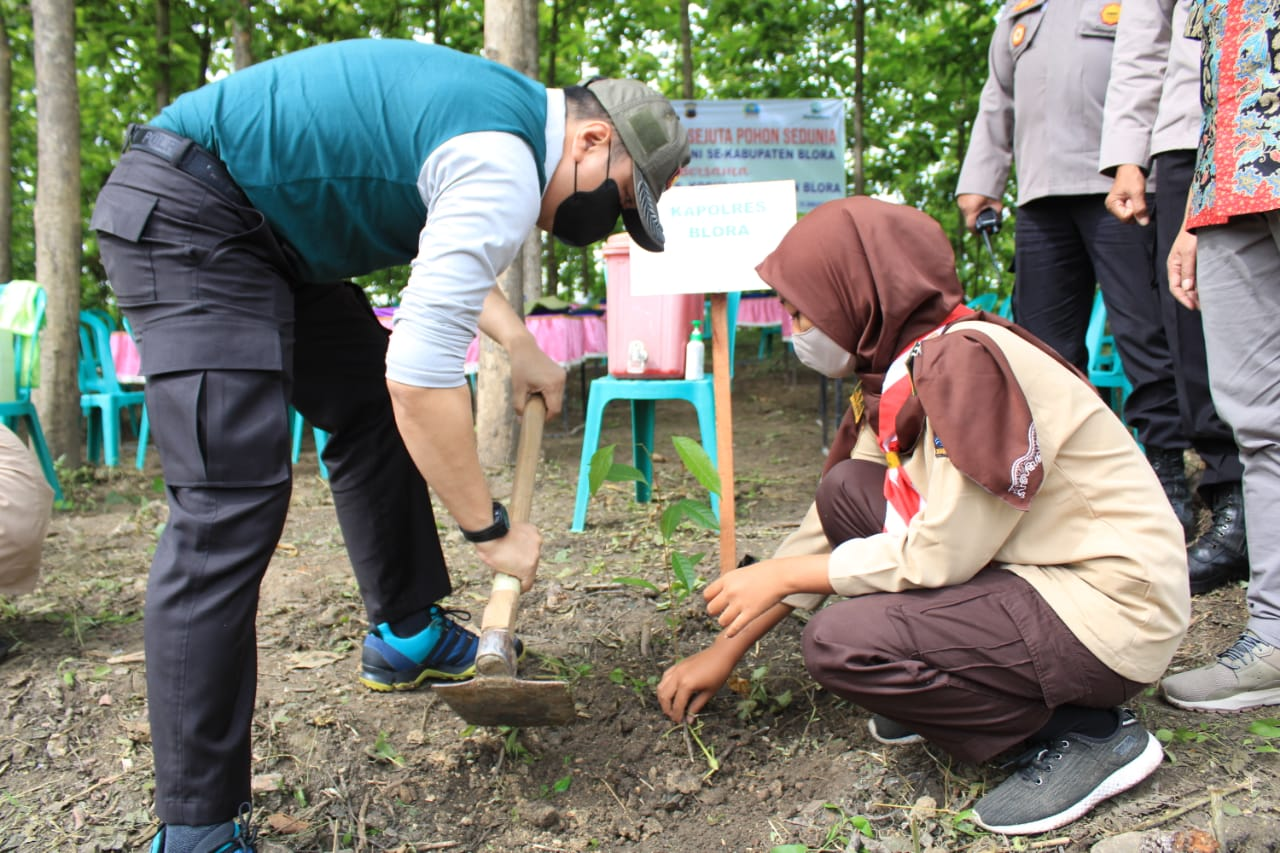 Perhutani Blora Tanam 50.200 Pohon