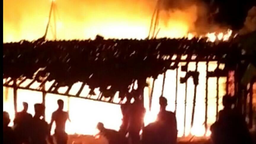 Ditinggal Pergi Ngaji, Seorang Nenek Tewas Terbakar di Dalam Kamar