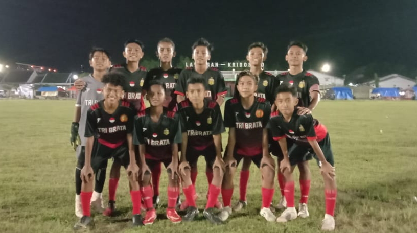Laga Ujicoba, Putra Bhayangkara U-14 Blora, Babat Academy Persib Bandung 4-0