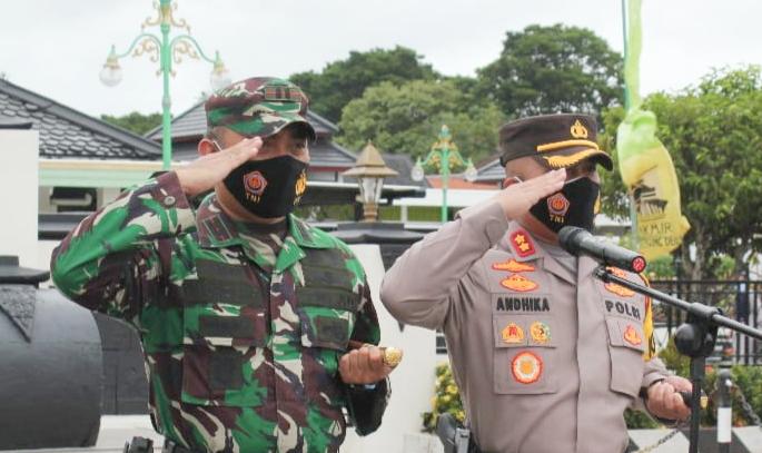 TNI-Polri dan Forkopimda Demak Gelar Apel Pengamanan Gereja