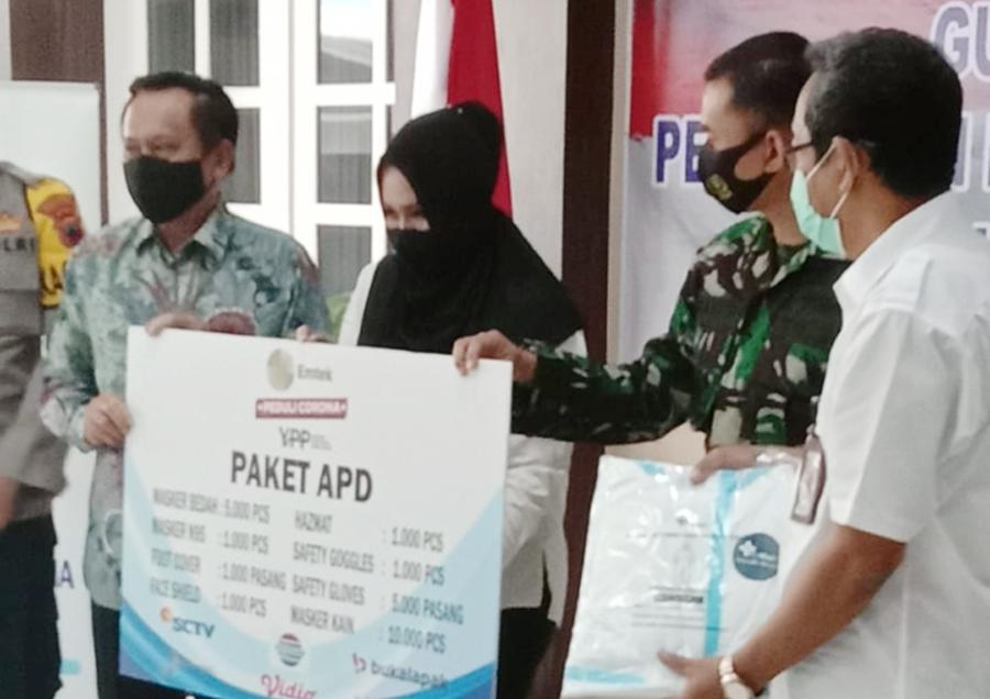 Pemkab Kendal Terima Bantuan APD dari YPP