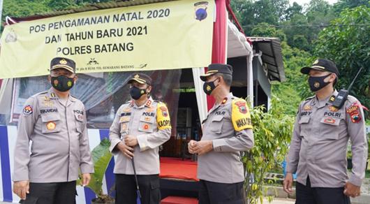 Tim Pamatwil Polda Jateng Lakukan Asistensi di Wilayah Polres Kendal dan Batang
