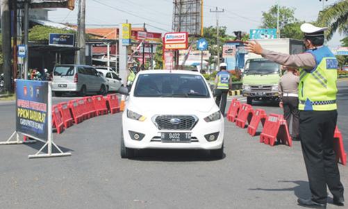 Polisi Perketat Akses Masuk Demak, Pengendara Wajib Tunjukan STRP