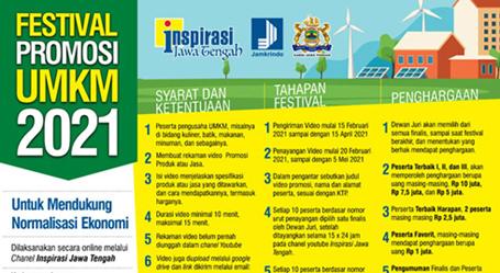 Festival Promosi UMKM Berhadiah Total Rp 37,5 Juta