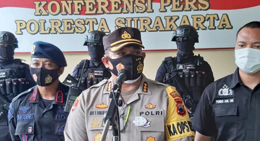 Polesta Surakarta Dalami Motif Puluhan Orang Bersenjata Intimidasi BPR Adipura