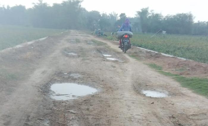 Penutupan Jalan Desa Bergolo, Kades Subari; Kalau Rusak Siapa yang Tanggungjawab